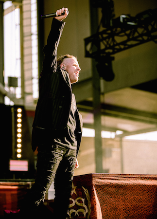 Stone Sour's Corey Taylor at Chicago Open Air