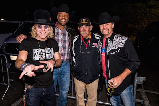 Big & Rich, Cowboy Troy, and Driftwood Hometown Hero Larry Fellows