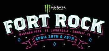 Monster Energy Fort Rock | Markham Park | Fort Lauderdale / Sunrise, FL | April 28 & 29