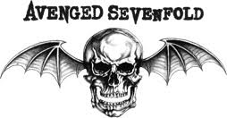 Avenged Sevenfold logo with skull and bat wings