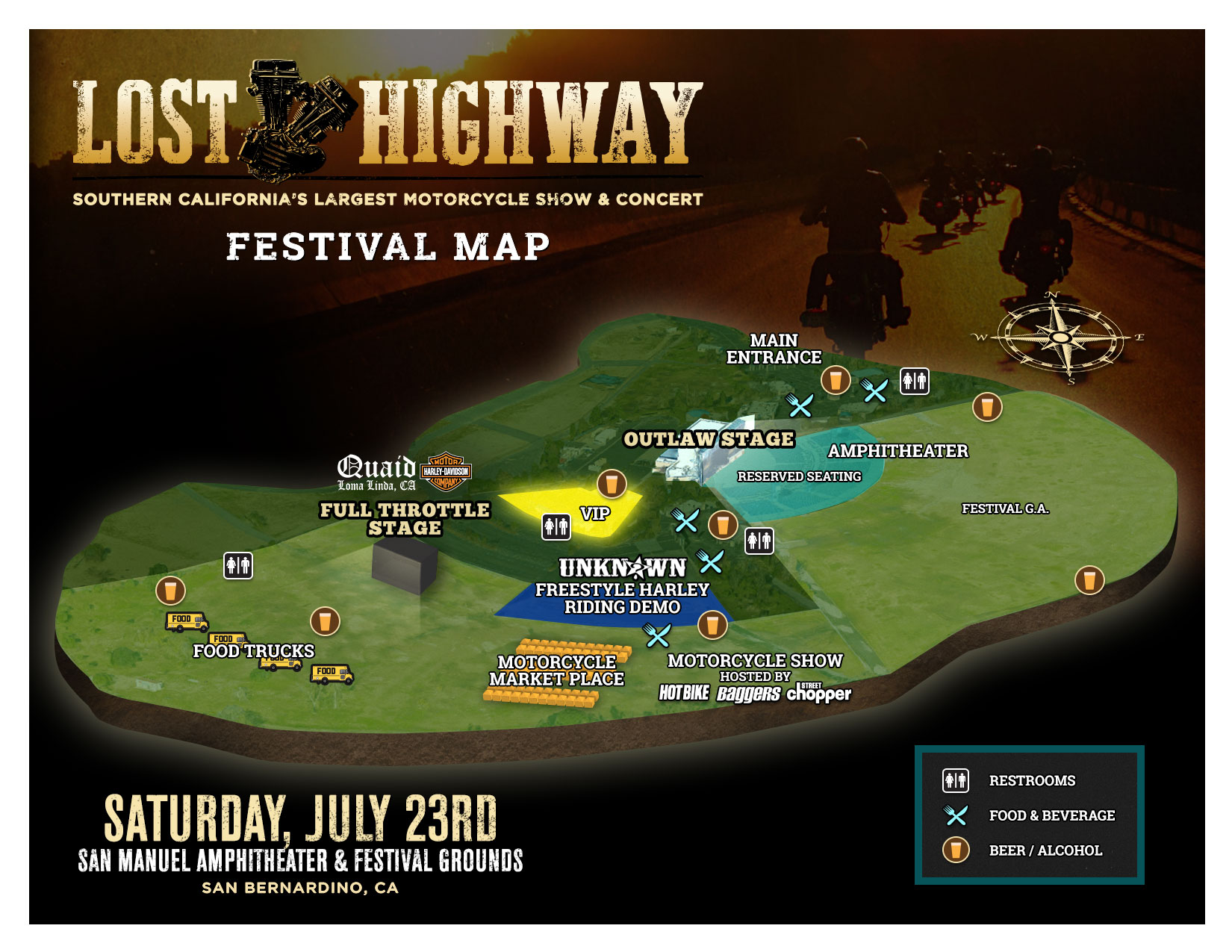 Lost Highway: ntley Gilbert, Social Distortion, Eagles Of ... on red rock amphitheater map, san manuel stadium seating chart, san manuel concerts, sandia casino amphitheater map, san manuel ampitheatre, san manuel arizona map, red hat amphitheater map, nationwide arena map, isleta amphitheater map,