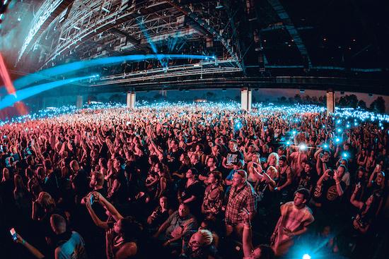 Monster Energy Rock Allegiance 2017 crowd