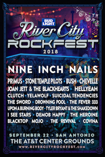 Bud Light River City Rockfest 2018