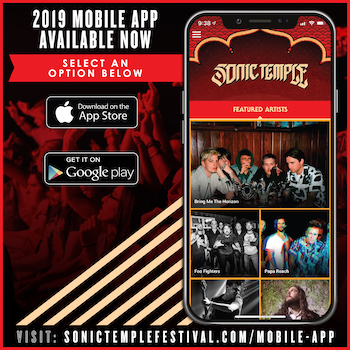 Sonic Temple Art + Music Festival mobile app