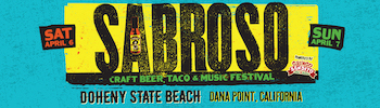 Sabroso Craft Beer, Taco & Music Festival, Doheny State Beach, Dana Point, CA