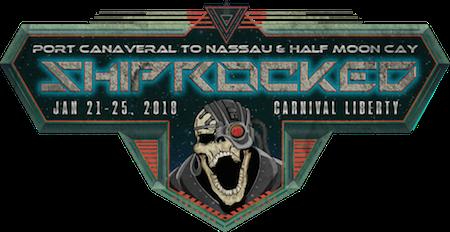 ShipRocked: Jan 21-25, 2018, Carnival Liberty, Port Canaveral to Nassau & Half Moon Cay